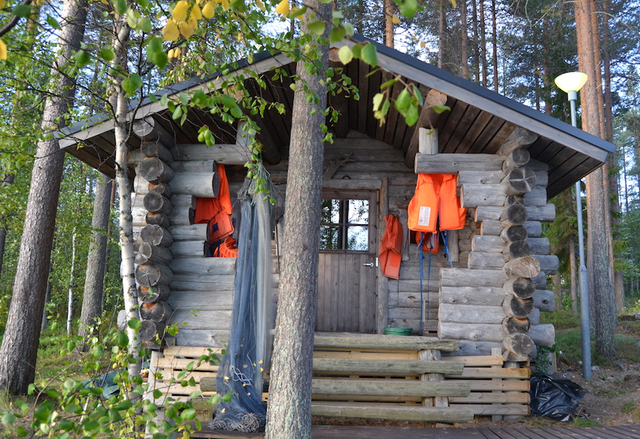 Sauna is an essential part of a Finnish cottage.