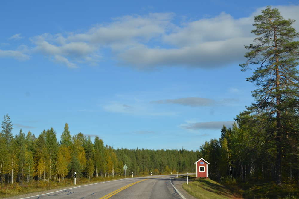 Driving is probably not the fastest way of reaching Lapland but it is one of the most beautiful and adventurous road trips.